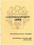 1982 Undergraduate & Graduate Commencement