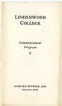 1925 Commencement