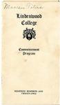 1922 Commencement