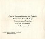 1913 Commencement
