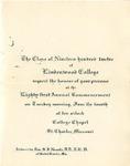 1912 Commencement