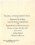 1911 Commencement