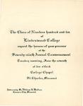 1910 Commencement