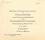 1909 Commencement