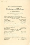 1901 Commencement