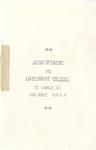 1896 Commencement