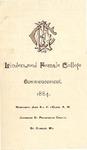 1884 Commencement