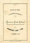 1882 Commencement