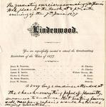 1877 Commencement
