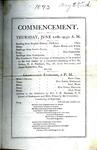 1873 Commencement