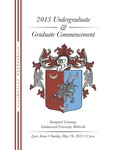 2013 Undergraduate and Graduate Commencement, Belleville Campus