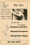 The Ibis, November 3, 1975