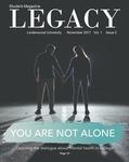 The Legacy, November 2017 by Lindenwood University
