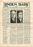 The Linden Bark, October 31, 1939