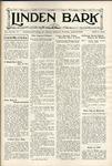 The Linden Bark, April 25, 1939
