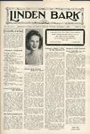 The Linden Bark, November 1, 1938