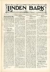 The Linden Bark, October 24, 1933