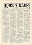 The Linden Bark, November 21, 1933