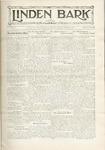 The Linden Bark, October 6, 1931