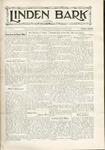 The Linden Bark, October 13, 1931