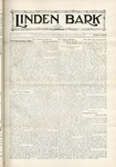 The Linden Bark, October 27, 1931