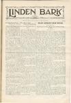 The Linden Bark, April 8, 1930