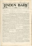 The Linden Bark, October 8, 1929