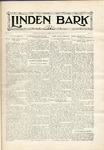 The Linden Bark, October 22, 1929