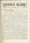 The Linden Bark, November 12, 1929