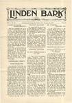 The Linden Bark, January 15, 1929