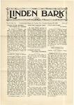 The Linden Bark, January 22, 1929