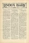 The Linden Bark, April 9, 1929