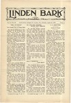The Linden Bark, April 16, 1929