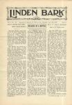 The Linden Bark, April 23, 1929
