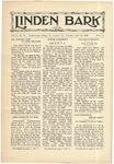 The Linden Bark, April 30, 1929