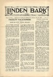 The Linden Bark, May 28, 1929