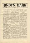 The Linden Bark, October 2, 1928