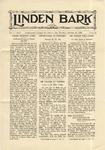 The Linden Bark, October 16, 1928