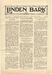The Linden Bark, October 23, 1928