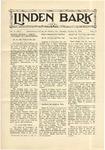 The Linden Bark, October 30, 1928
