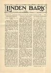 The Linden Bark, November 6, 1928