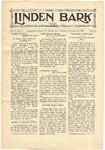The Linden Bark, November 20, 1928