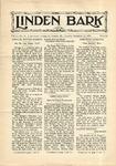 The Linden Bark, December 11, 1928
