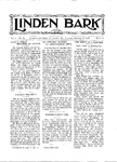 Linden Bark, January 10, 1928