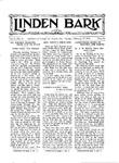 Linden Bark, February 14, 1928
