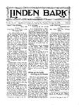 Linden Bark, February 21, 1928