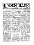 Linden Bark, March 6, 1928