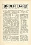 Linden Bark, May 1, 1928