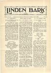 Linden Bark, May 8, 1928