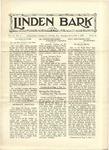 Linden Bark, November 9, 1927